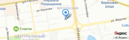 Пивной мир на карте Новосибирска