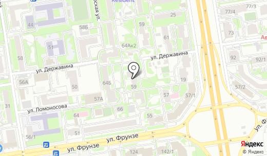 Пивной мир. Схема проезда в Новосибирске