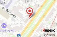 Схема проезда до компании Детство в Новосибирске