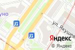 Схема проезда до компании Дабл-Ю в Новосибирске