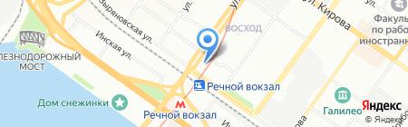 Вина Кубани на карте Новосибирска