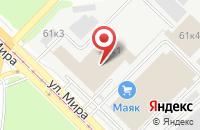 Схема проезда до компании Главторгопт в Новосибирске