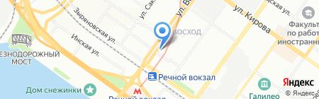 Охрана МВД России на карте Новосибирска