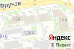 Схема проезда до компании BARLED в Новосибирске