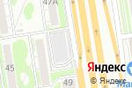 Схема проезда до компании Боцман в Новосибирске