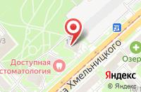 Схема проезда до компании Natali в Астрахани