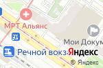 Схема проезда до компании Эскор в Новосибирске