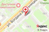 Схема проезда до компании Цемстройпроект в Белгороде