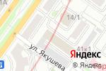 Схема проезда до компании Sibnet.ru в Новосибирске