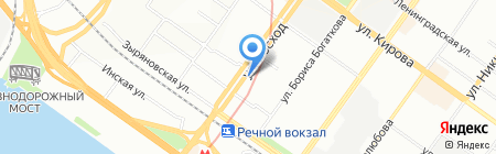 Рус-Упак на карте Новосибирска