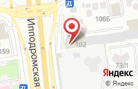 Схема проезда до компании Телетрейд-Красноярск в Новосибирске