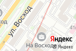 Схема проезда до компании АВАНТА в Новосибирске
