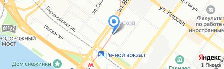 Butterfly на карте Новосибирска