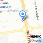 Суши Shop на карте Новосибирска