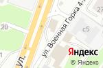 Схема проезда до компании Олимпийский в Новосибирске