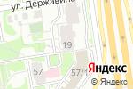 Схема проезда до компании ЭНЕТРА в Новосибирске
