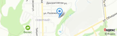 Детский сад №510 на карте Новосибирска
