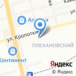 Магазин игрушек и канцтоваров на карте Новосибирска