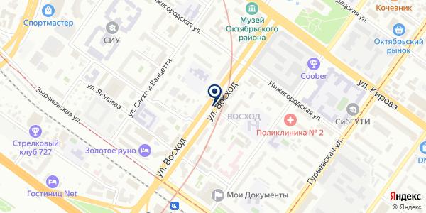 ПромоТекстиль на карте Новосибирске