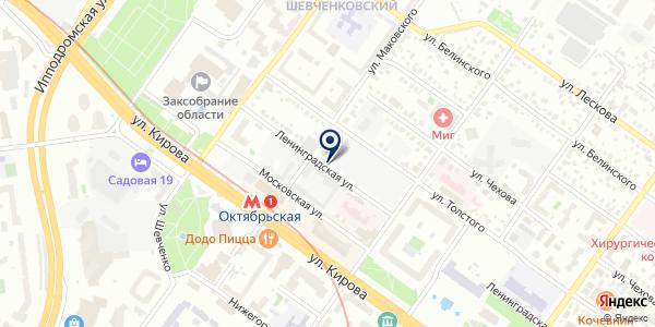 СД Капитал Сервис на карте Новосибирске