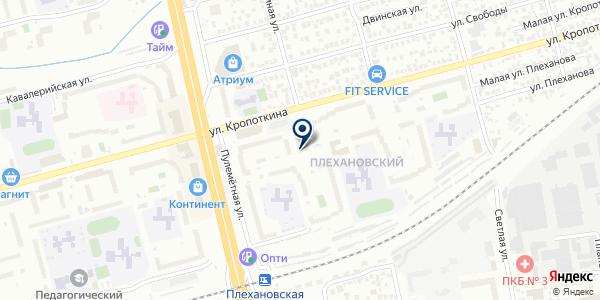 Мир сладких снов на карте Новосибирске