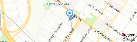 Управление жилищно-коммунальным хозяйством на карте Новосибирска