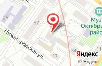 Схема проезда до компании Центр комплексного обслуживания  в Новосибирске