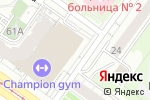 Схема проезда до компании Перекати кофе в Новосибирске