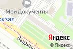 Схема проезда до компании Радиосфера в Новосибирске
