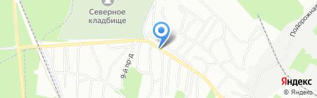 ГранитСиб на карте Новосибирска