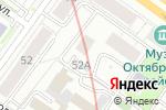 Схема проезда до компании Тектоника в Новосибирске