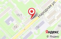 Схема проезда до компании Штальгер в Новосибирске