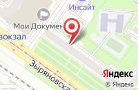 Схема проезда до компании Профпресс в Новосибирске