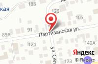 Схема проезда до компании Арт-Город в Октябрьском