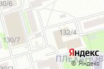 Схема проезда до компании Лидер экономии в Новосибирске