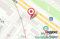 Схема проезда до компании Ликом в Новосибирске