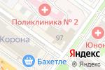 Схема проезда до компании FARFOR в Новосибирске