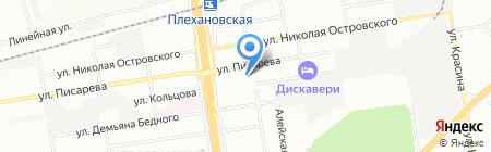 ВВЦ на карте Новосибирска