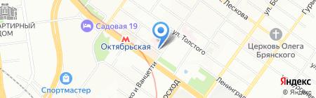 Адару на карте Новосибирска