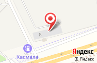 Схема проезда до компании Холод в квадрате в Озерном
