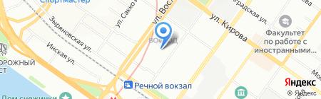 АБСОЛЮТНОЕ ПРАВО на карте Новосибирска