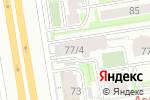Схема проезда до компании Аква Беби в Новосибирске