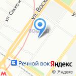 ВАШЪ ХЛЕБЪ на карте Новосибирска
