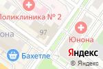 Схема проезда до компании СпортСоюз в Новосибирске