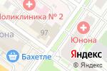 Схема проезда до компании Анжелика в Новосибирске