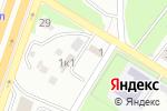 Схема проезда до компании Автостоянка в Новосибирске