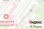 Схема проезда до компании Эксперт в Новосибирске