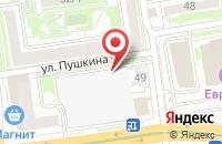Схема проезда до компании Бэйрэль Телеком в Лесном