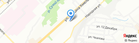 Katerina на карте Новосибирска