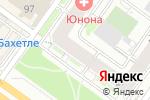 Схема проезда до компании В тренде в Новосибирске